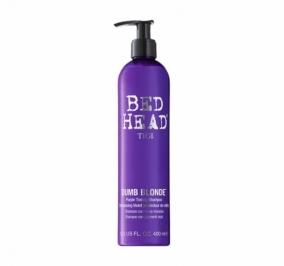 Tigi Bed Head Dumb Blonde Purple Toning Shampoo 400 ml