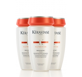 Kérastase Nutritive Bain Satin 1 Irisome x 3
