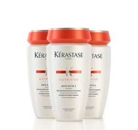 Kérastase Nutritive Bain Satin 2 Irisome x 3