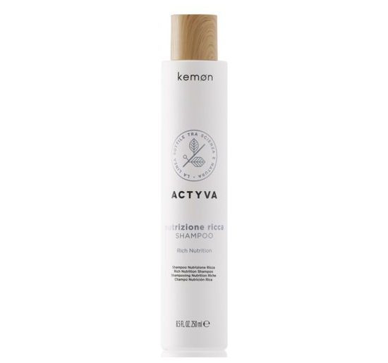 ACTYVA Actyva Nutrizione Ricca Shampoo 250 ml.