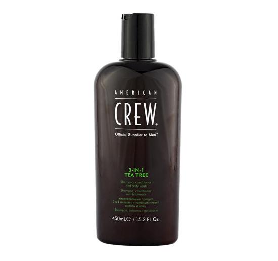 AMERICAN CREW American Crew 3 in 1 Tea Tree Shampoo +
