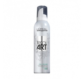 LOREAL TECNI ART FULL VOLUME MOUSSE FORCE 4 250 ML