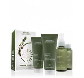 AVEDA BOTANICAL KINETICS WATER/EARTH 4-STEP SKIN CARE KIT TO
