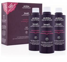 AVEDA INVATI SCALP RETIVALIZER 3 REFILLS TRIO PACK 3 X 150 ML