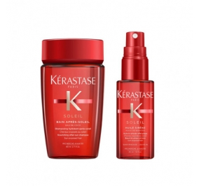 Kerastase Mini Kit Soleil Bain 80 ml + Trattamento in Spray 45 ml