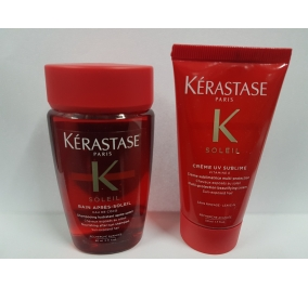 Kerastase Mini Kit Soleil Bain 80 ml + Creme UV Sublime 50 ml