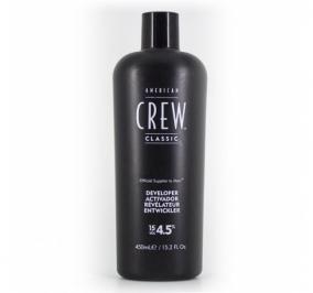 American Crew Precision Blend Developer 15 vol 450 ml