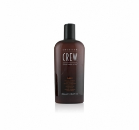 AMERICAN CREW 3 in 1 Shampoo + Conditioner + Body Wash 450 ml